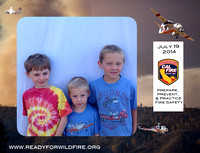 Cal Fire Event for Disney Planes Fire & Rescue